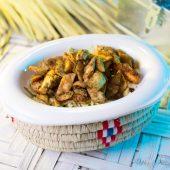kashounat salad with grilled chicken